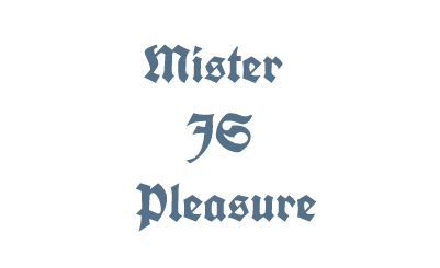 Mister JS Pleasure